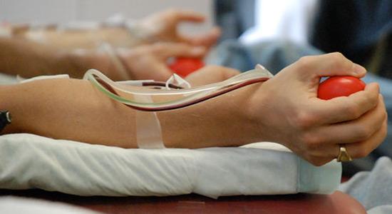 Foto: Acţiune de donare de sânge la Comana