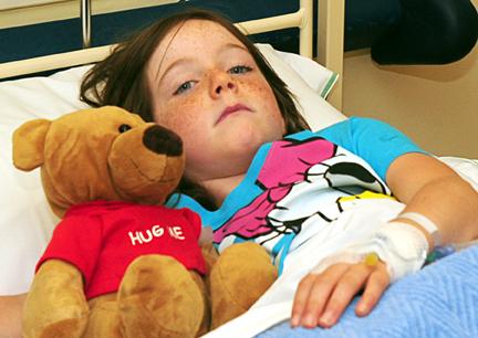 Foto: Donaţii pentru copiii internaţi la pediatrie