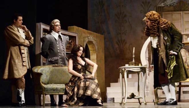 "Foto: ""Don Pasquale""  revine pe scena  Teatrului ""Oleg Danovski"""