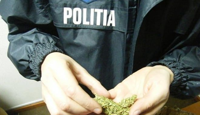 Foto: Bărbat din Năvodari, depistat cu droguri. S-a ales cu dosar penal