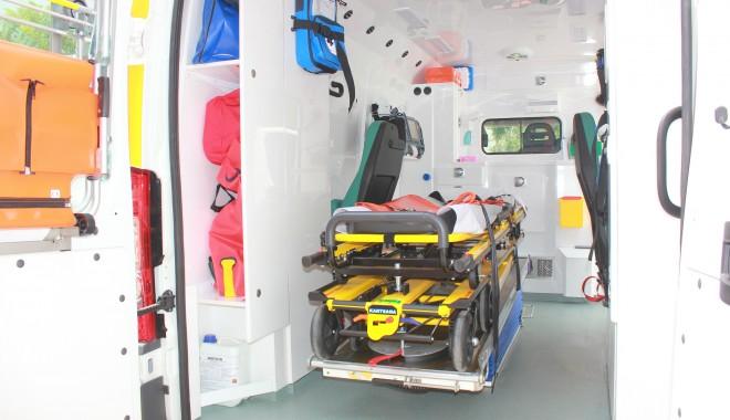 Foto: Ambulanţă ultraperformantă, la Mangalia