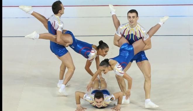 Foto: Două medalii pentru aerobicii Farului, la Jocurile Mondiale