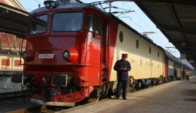 Foto: CFR. Modificări temporare în circulația trenurilor spre Mangalia
