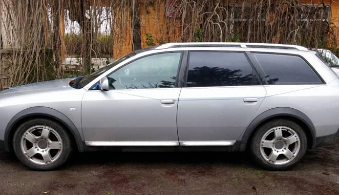 Foto: Două maşini furate din România şi Italia, descoperite la Negru Vodă