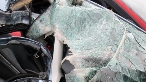 Foto: Un preot şi soţia sa, morţi într-un groaznic accident rutier. Cei doi se întorceau de la Ierusalim