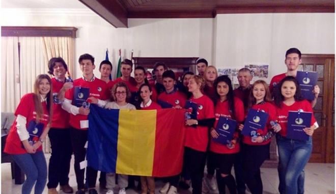 Foto: Stagii de pregătire în Cipru  şi Portugalia pentru elevii din Cernavodă