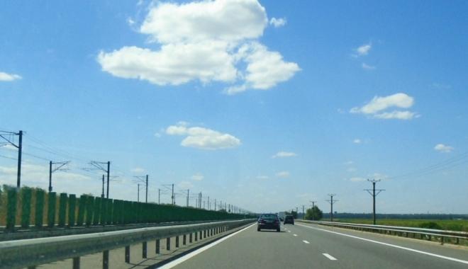 Foto: Şofer depistat pe A2 cu 211 km/h. Al doilea vitezoman, în aceeaşi zi