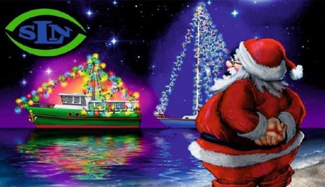 Foto: Moş Crăciun vine la copiii  lupilor de mare