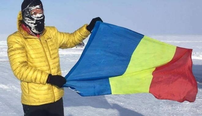 Foto: Tibi Uşeriu a câştigat, pentru a doua oară, ultramaratonul de la Cercul Polar