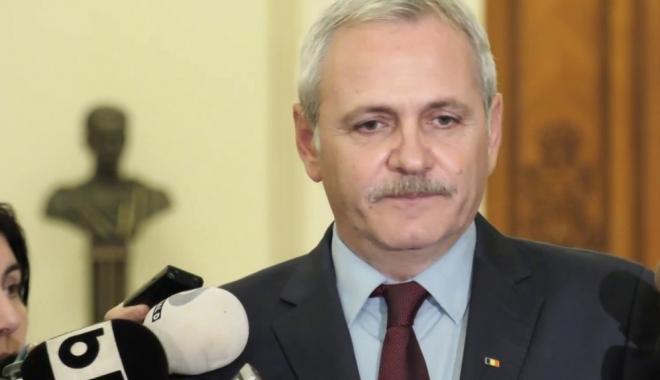 """Foto: Liviu Dragnea: """"Moţiunea de cenzură va fi votată, miercuri"""""""