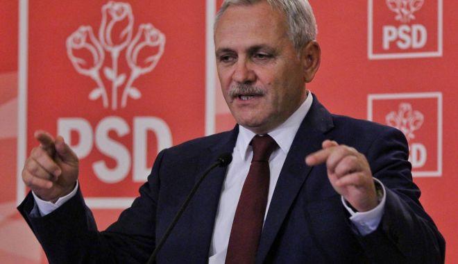 Foto: Liviu Dragnea îl acuză pe Klaus Iohannis de învrăjbirea românilor