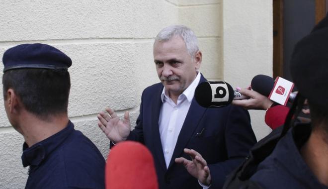 Foto: Președintele PSD, Liviu Dragnea, rămâne cu sechestrul pe avere