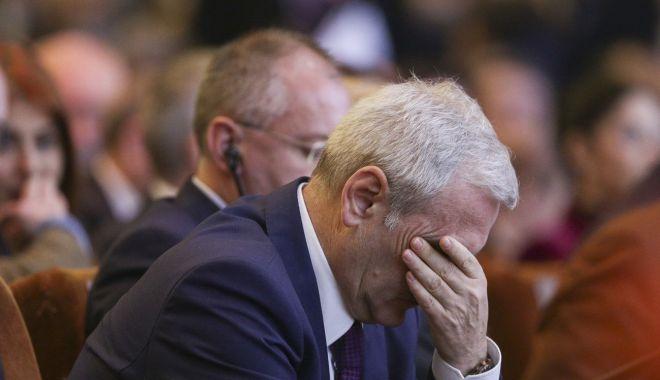 Foto: Dragnea, la un nou termen în dosarul în care a fost condamnat la 3 ani şi 6 luni de închisoare, înaintea CEx al PSD
