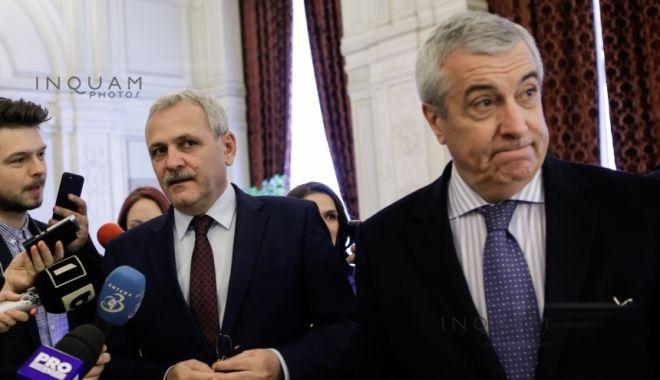Foto: Dragnea şi Tăriceanu retrag proiectul de lege privind statutul juridic al Casei Regale a României