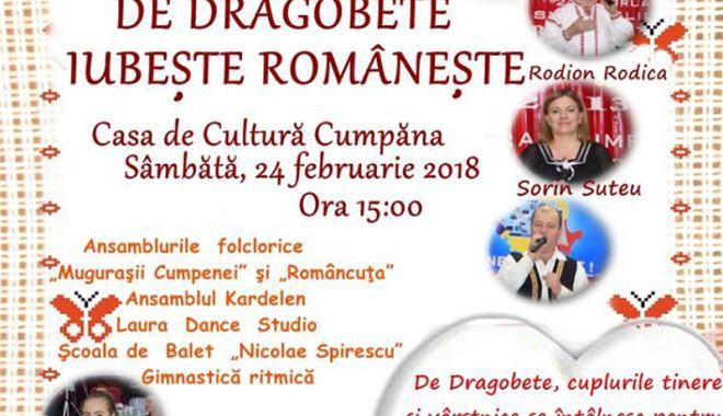 Foto: De Dragobete, iubeşte româneşte  la Cumpăna