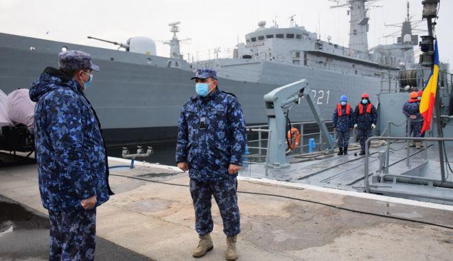 """Dragorul maritim """"Lt. Lupu Dinescu"""" a încheiat ultima misiune NATO din 2020 - dragormisiune3-1606060957.jpg"""
