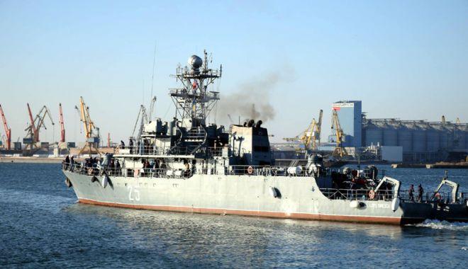 """Foto: Dragorul Maritim """"Lt. Lupu Dinescu"""", misiune în Gruparea Navală NATO"""