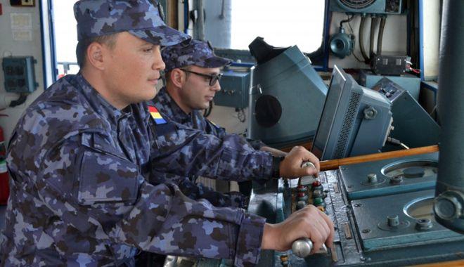 """Foto: Dragorul Maritim 29 """"Lt. Dimitrie Nicolescu"""", în drum spre casă"""