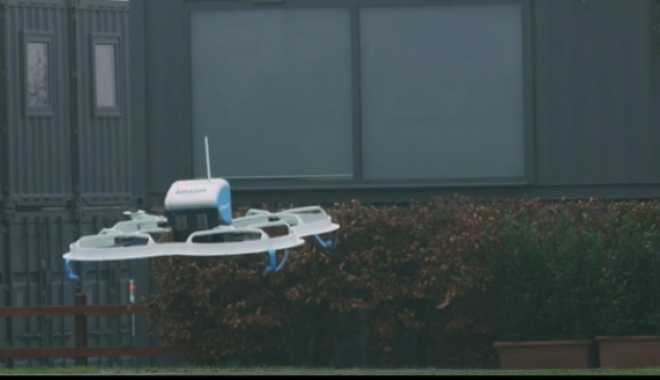 Foto: VIDEO. Prima livrare de produse, realizată cu o dronă