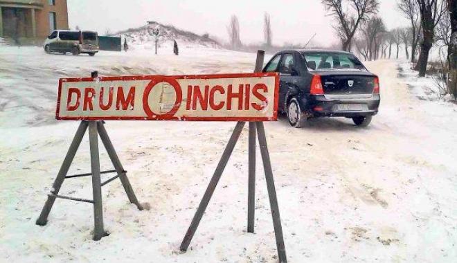 Foto: Situaţia drumurilor din Constanţa, la această oră
