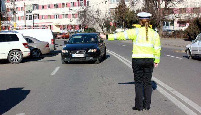 Foto: Drum din Constanţa închis traficului rutier