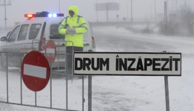 Foto: CONSTANȚA. Ce drumuri rămân în continuare închise