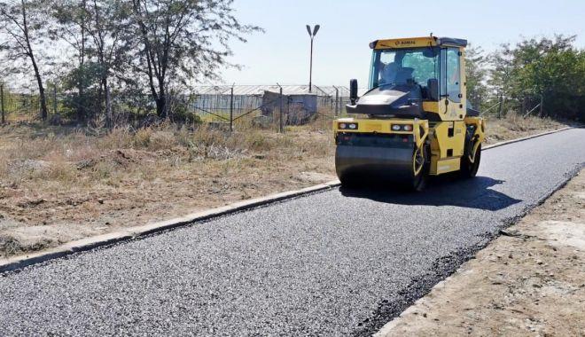 Foto: Drumul de acces către Baza Aeromedicală SMURD este asfaltat