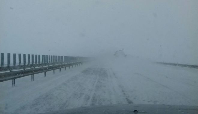 Foto: Autostrada Soarelui, 10 drumuri naționale și județene - închise!