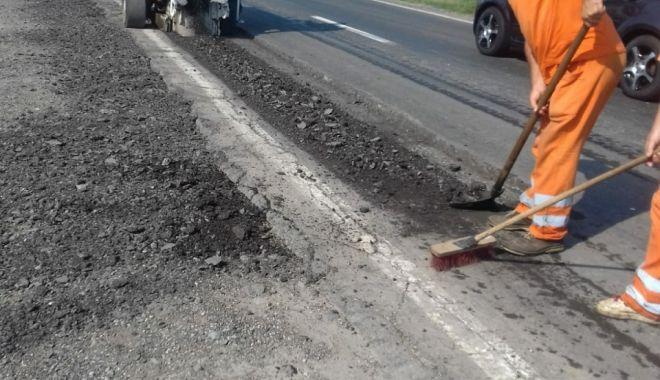 Lucrări de reparații extinse, pe mai multe drumuri din județul Constanța - drumurijudetene-1569602639.jpg
