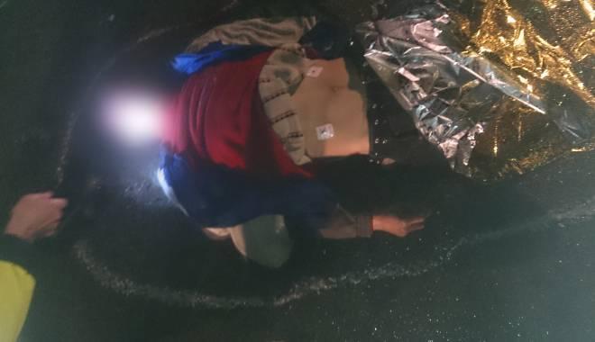 IMAGINI ȘOCANTE / Accident rutier teribil! Bărbat spulberat de mașină, mort pe loc. UPDATE - dsc0042-1424894560.jpg