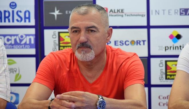 """Foto: Petre Grigoraş nu a semnat cu SSC Farul Constanţa. """"Aşteptăm aprobarea proiectului în şedinţa Consiliului Local"""""""