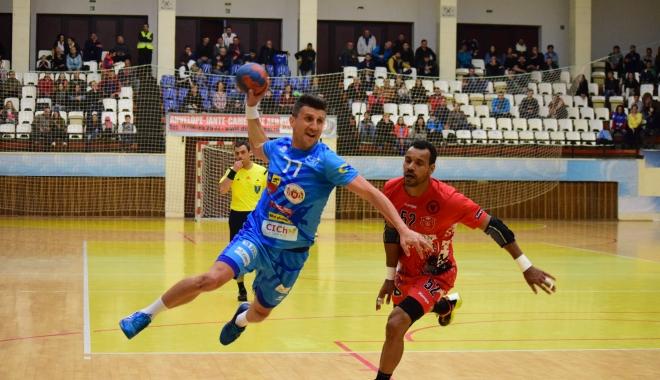 GALERIE FOTO / HANDBAL. Victorie extraordinară pentru HC Dobrogea Sud! Duelul merge în meciul decisiv