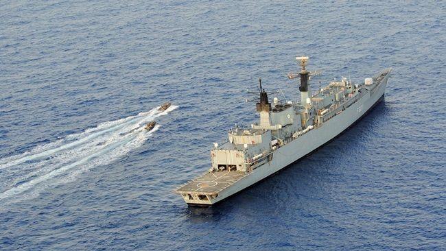 Foto: Forţele Navale Române, de veghe în Marea Neagră alături de partenerii NATO