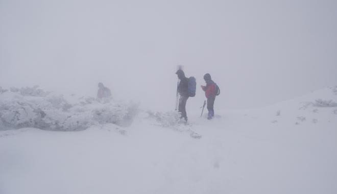 Foto: Cei doi alpinişti dispăruţi în Retezat au fost găsiţi