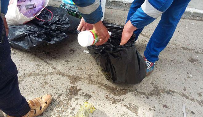 Foto: Mii de kilograme de alimente, distruse  după controalele inspectorilor DSV