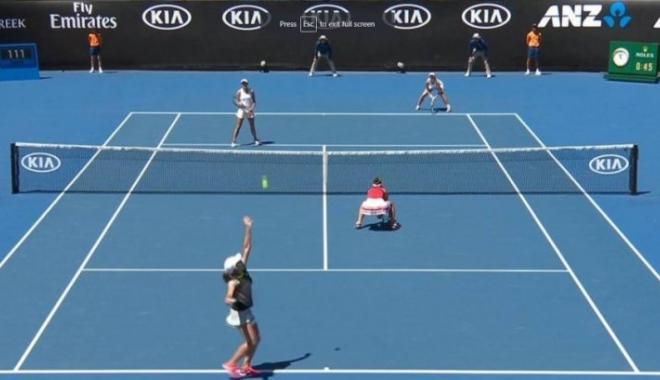 Foto: Victorie românească la Australian Open. Begu și Niculescu s-au calificat în optimi