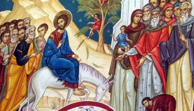 Foto: Creştin ortodocşii sărbătoresc Duminica Floriilor