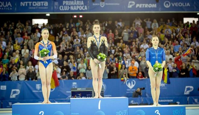 Foto: Respect, Cătălina Ponor! După aurul european, să vină medalia mondială
