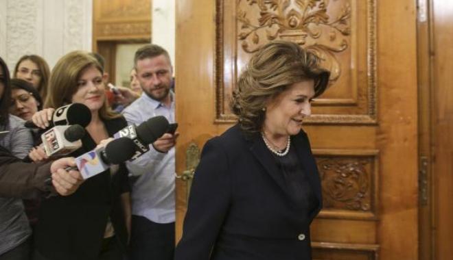 Foto: Camera Deputaților a respins solicitarea DNA în cazul Rovanei Plumb