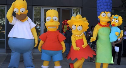 Foto: Un nou personaj în familia Simpson