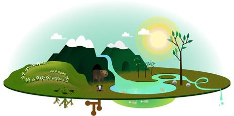 Foto: Logo Google special, dedicat Zilei Pământului