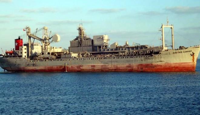 """Foto: SLN a deschis acţiune în justiţie pentru vânzarea navei """"Eastmed Carrier"""""""