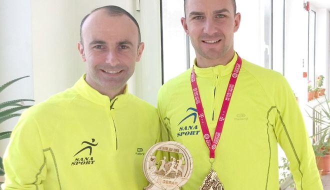 Foto: Echipa SanaSport, locul secund la Semi-maratonul Gerar de la Bucureşti