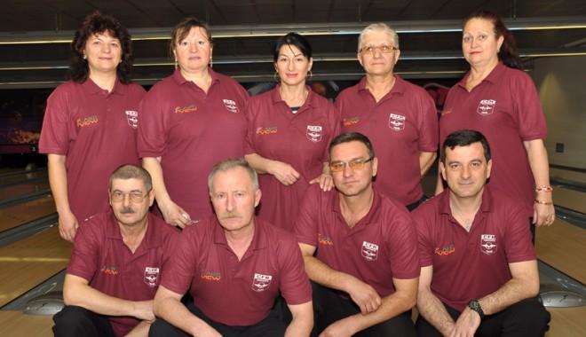 Foto: Echipa de bowling CFR Constanța a promovat în divizia A