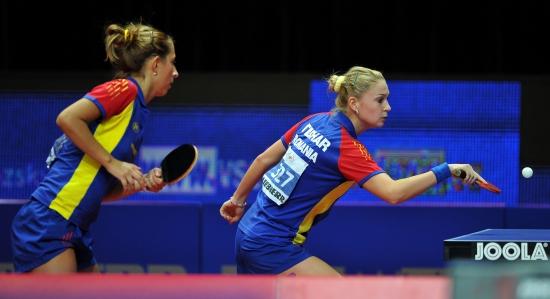 Foto: Naţionala feminină de tenis de masă a României s-a calificat în optimile de finală, la CM pe echipe
