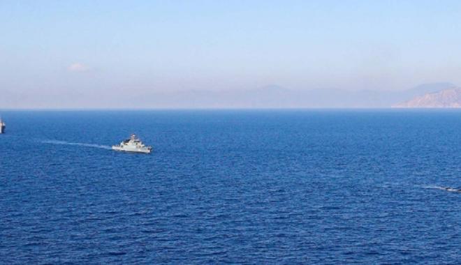 Foto: Echipajul Corvetei 265 a terminat exerciţiul de luptă antisubmarin