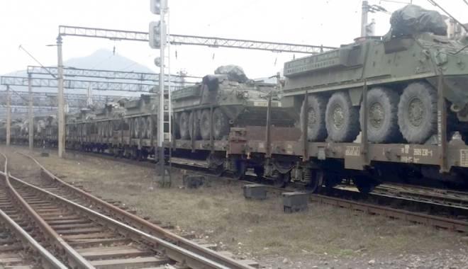 Foto: Echipament militar american, în baza de la Kogălniceanu