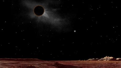 Foto: Ultima eclipsă totală de lună din 2011, are loc la noapte