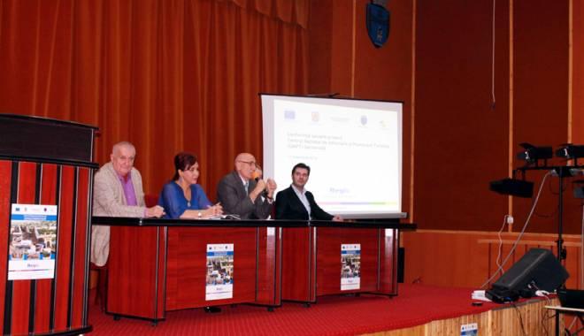 Foto: Ce planuri are primarul Gheorghe Hânsă pentru iluminarea podului de la Cernavodă