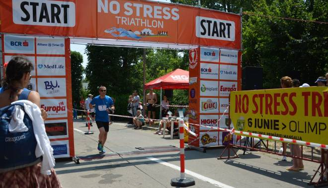 "Foto: Edilul din Mangalia, participant la ""No stress Triathlon"""